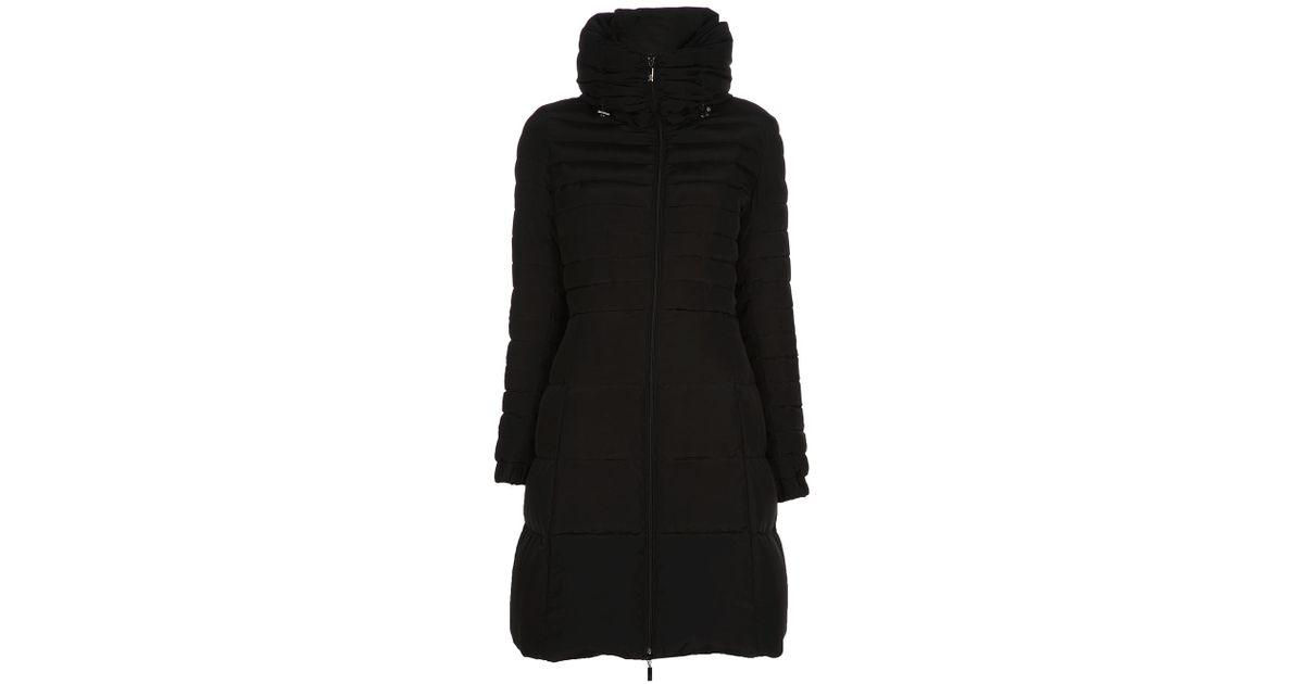 bf4c6ef7c Moncler Black Fraxinelle Coat