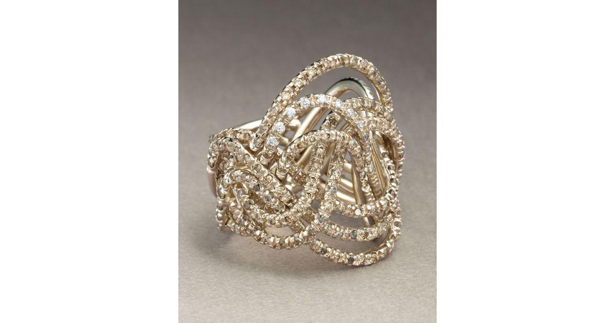 Lyst - H Stern Zephyr Ring in Metallic
