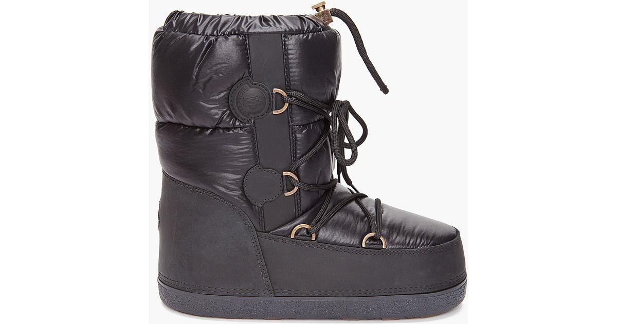 b619d238bac Moncler Black Moon Boots for men