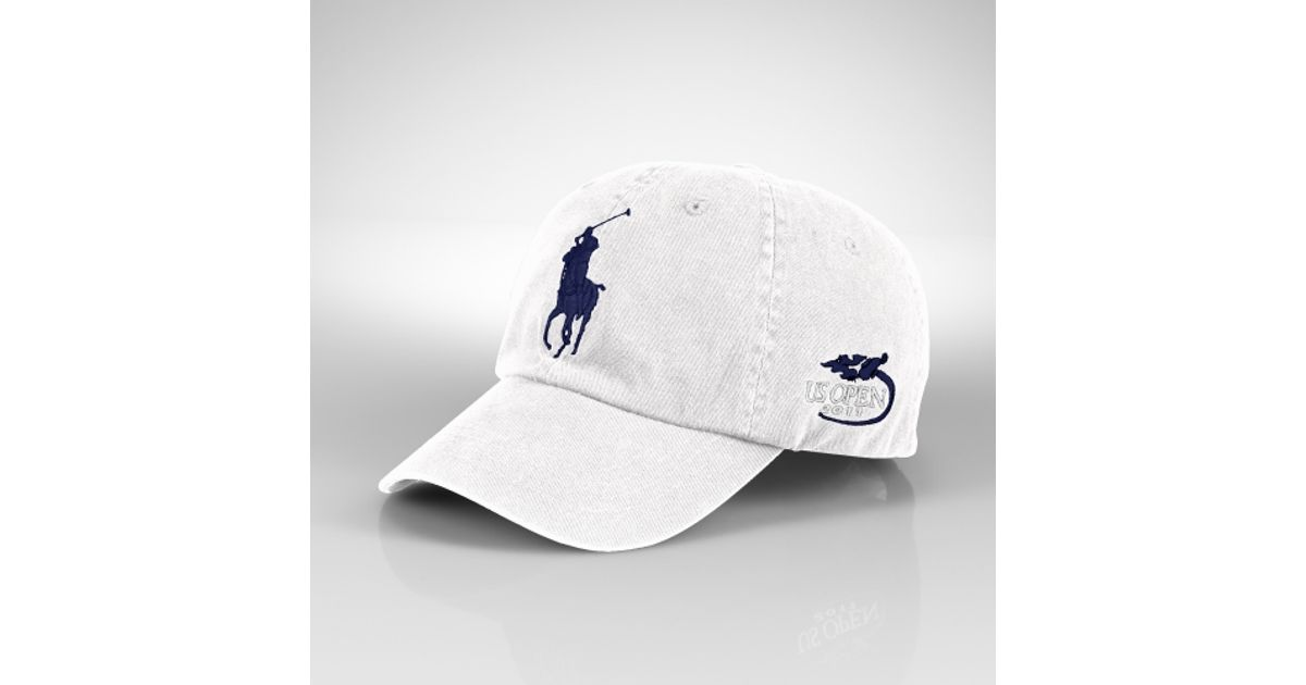 Polo Ralph Lauren Us Open Classic Sport Cap in White for Men - Lyst 3fed1a687a9c