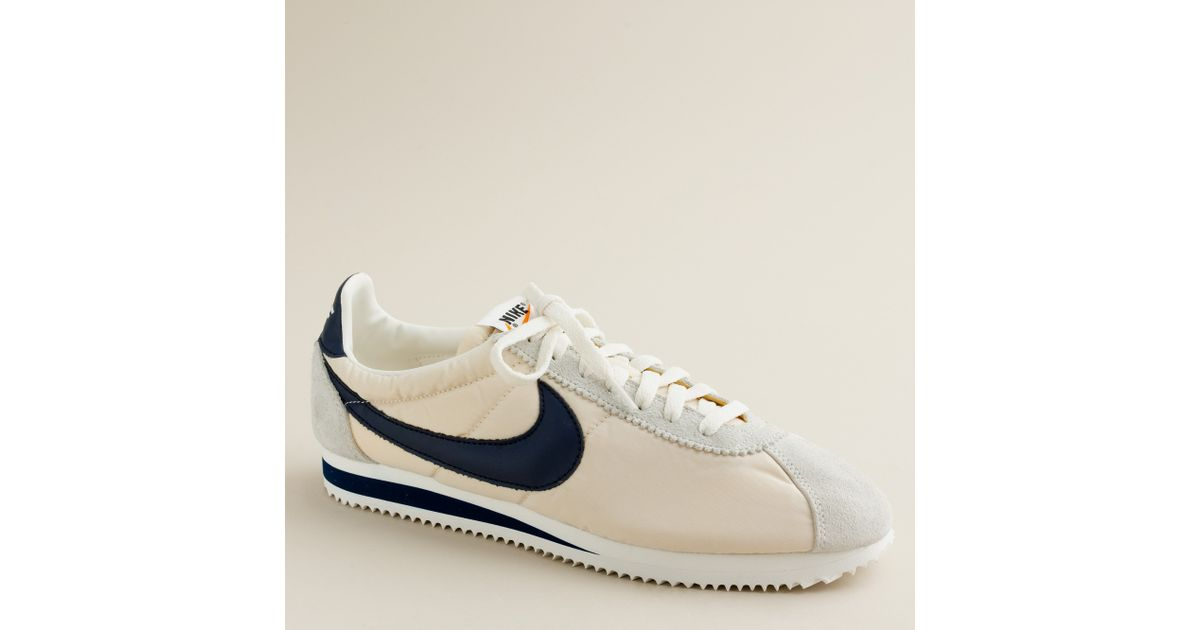 hot sale online free delivery factory outlet J.Crew White Nike® For J.crew Vintage Collection Cortez® Sneakers for men