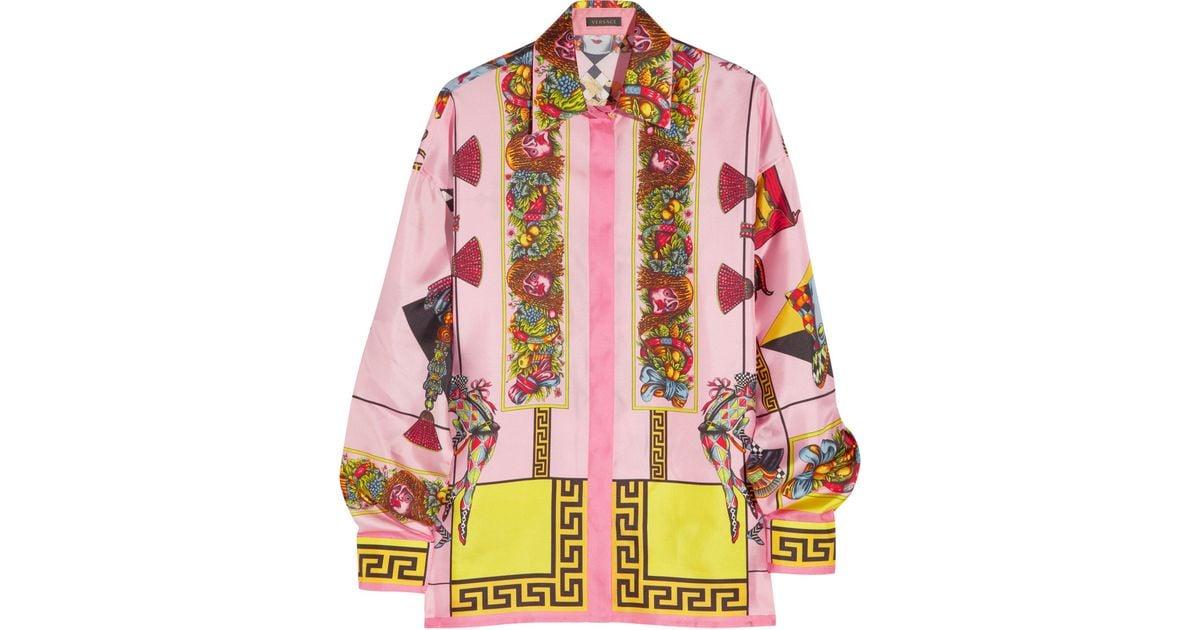 d4ecd03794ccfc Versace Baroque Print Shirt - Lyst