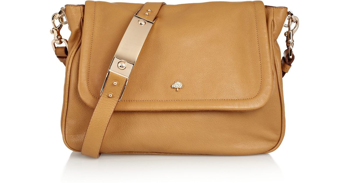 c5471be9d1 Lyst - Mulberry Evelina Leather Shoulder Bag in Brown