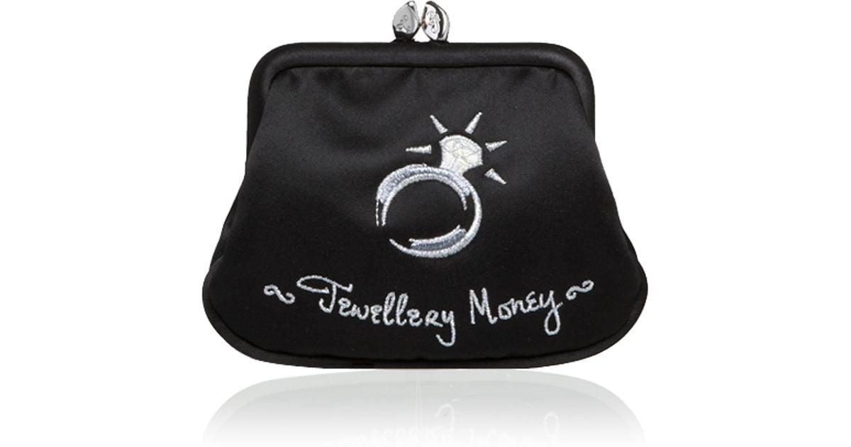 Lyst - Lulu Guinness Jewellery Money Mini Frame Purse in Black