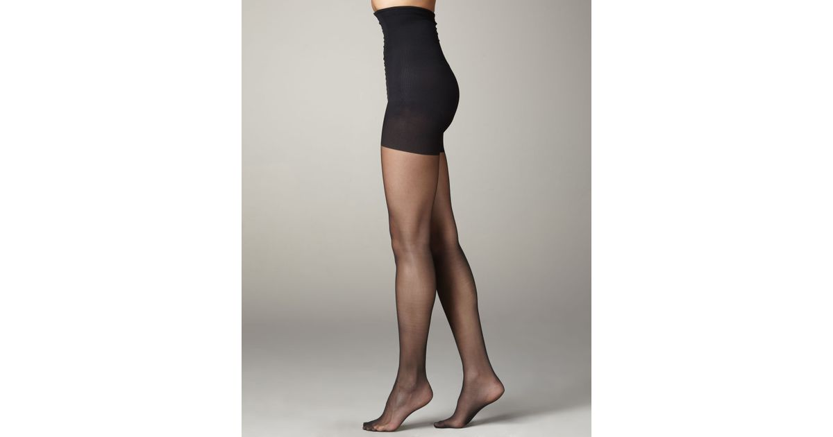 cc35ec8416c06 Lyst - Wolford Power Shape Tights in Black