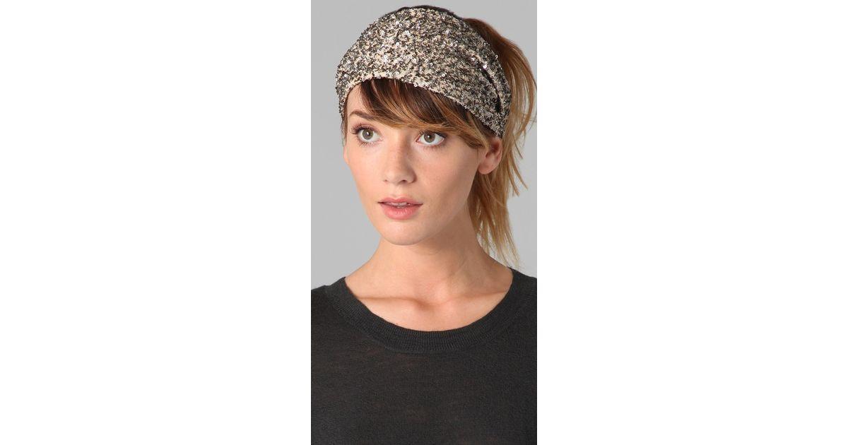 1e53f8502 Eugenia Kim Metallic Daniella Sequin Headband