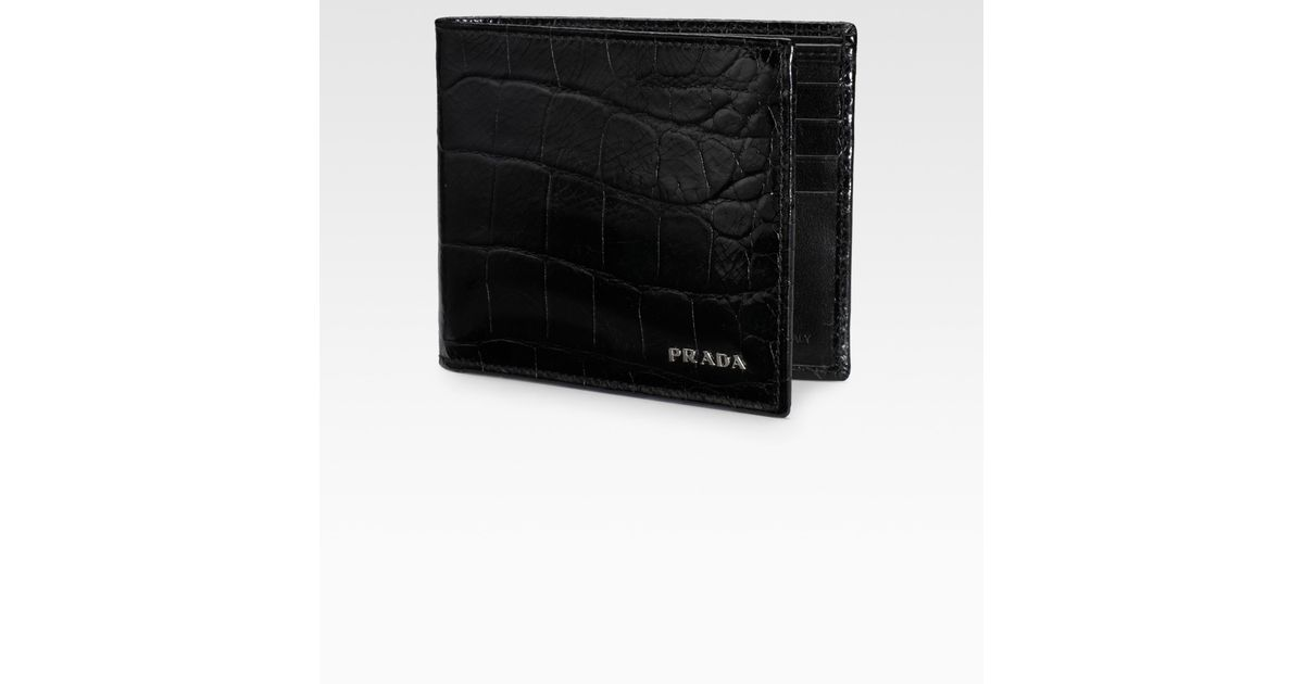 prada embossed st. cocco clutch