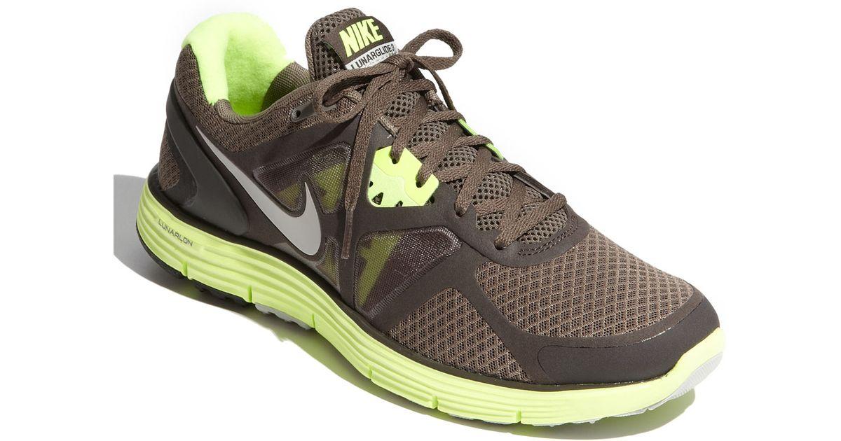 b4450978186f ... Nike Lunarglide+ 3 Running Shoe in Brown for Men Lyst ...
