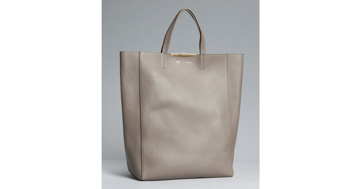 celine large tote bag in supple calfskin