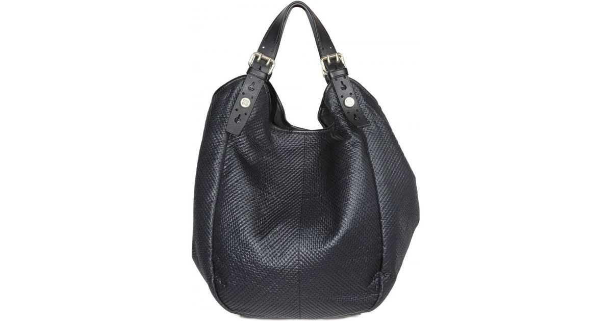 Lyst - Givenchy Nylon New Sacca Hobo in Black 233ff8e83bec9