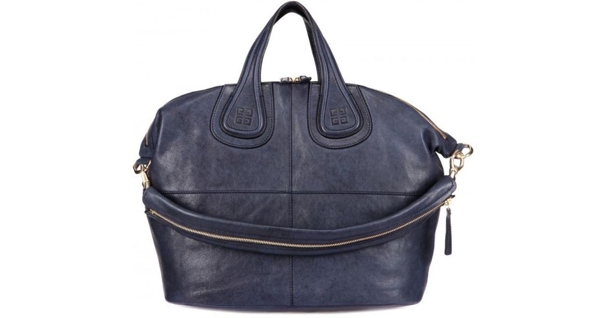 b0eba0c94805 Lyst - Givenchy Nightingale Medium Shoulder Bag in Blue