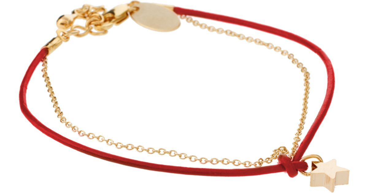 gold czjbb diamond pave resized knot set and design red in reef bracelet round