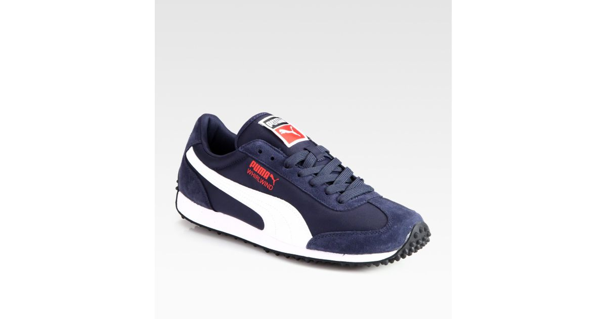 PUMA Blue Whirlwind Classic Sneakers for men