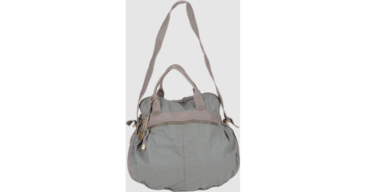 401c8b8ecedbd Lyst - Sissi Rossi Large Fabric Bag in Gray