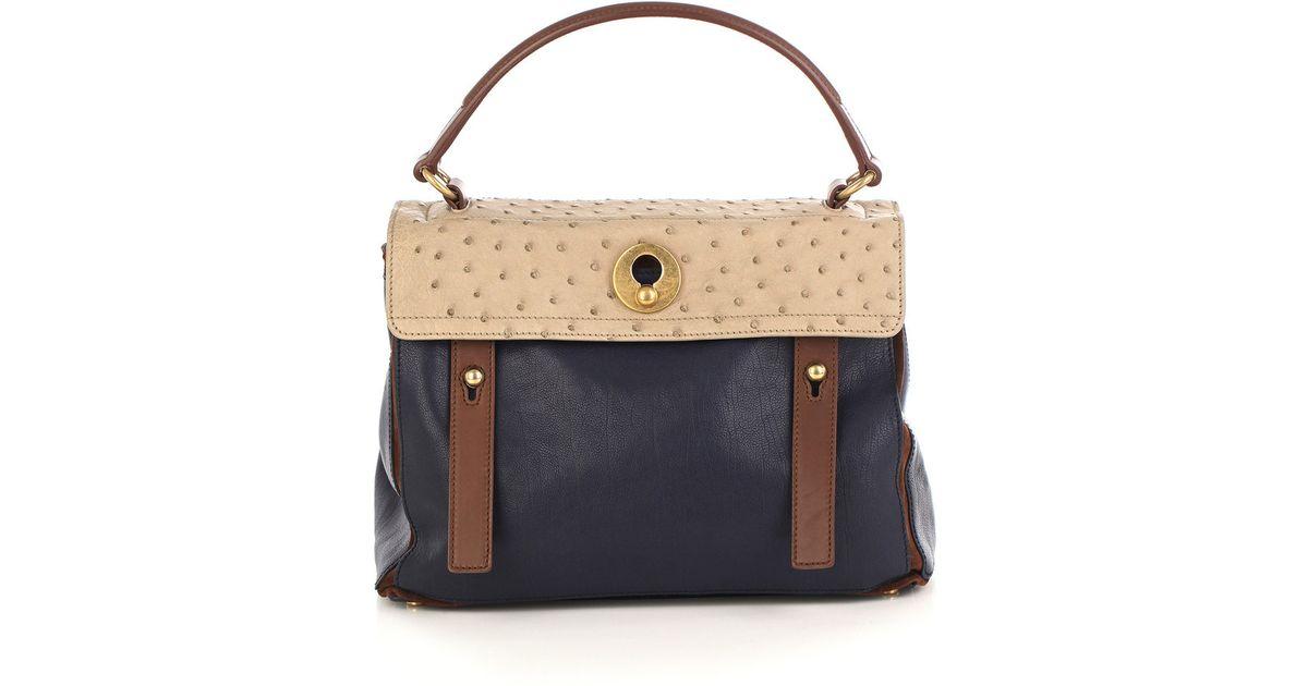 saint laurent duffle bag - ysl brown velvet handbag muse two