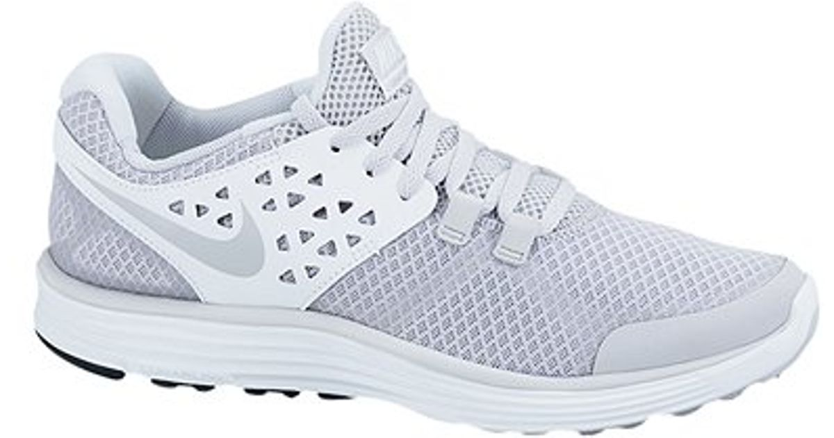 Nike Lunarswift 3 Womens Running Shoes Wolf Grey White in Gray - Lyst 6e3a9a0f7aad