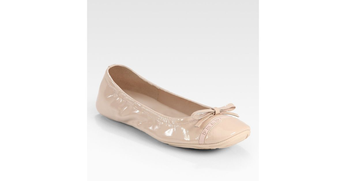 Prada Scamosciato Bow Flats low price fee shipping cheap online cheap sale footlocker clearance really zPxG34jxD