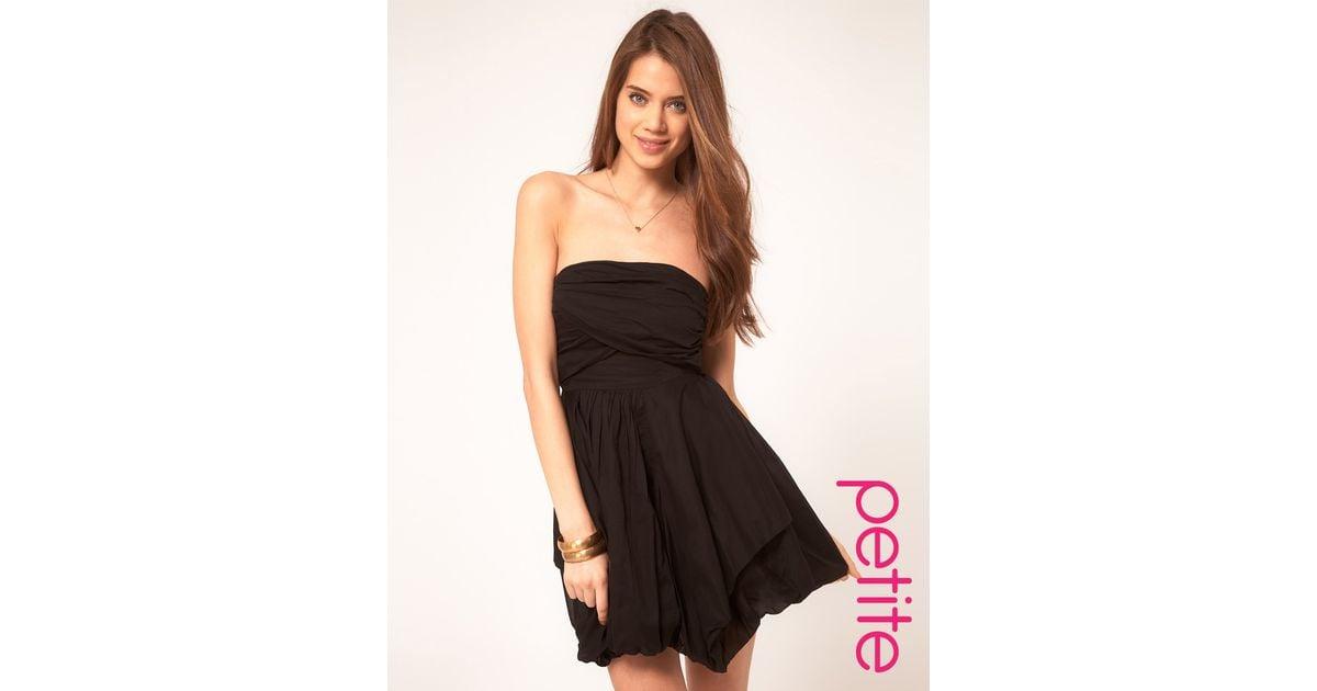 6847b00ab831c asos black strapless dress – Little Black Dress | Black Lace ...