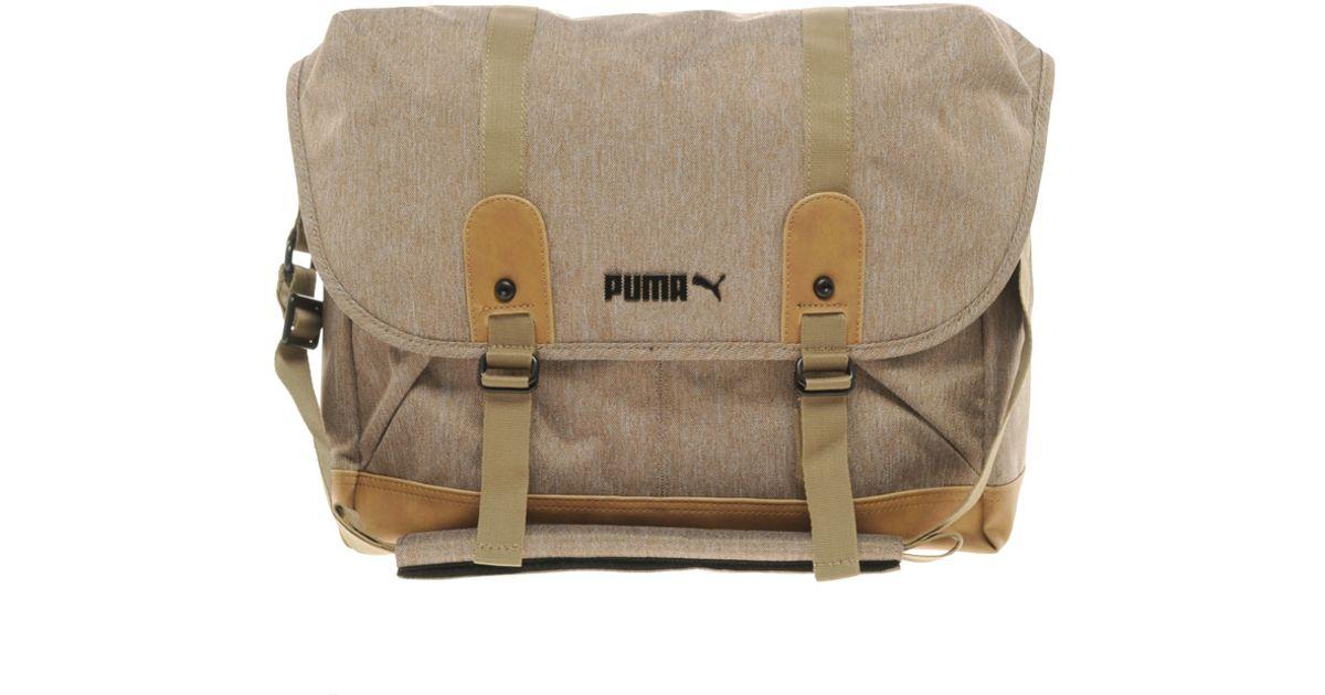 d9b0c8a017 Lyst - Puma Drift Dispatch Bag in Natural for Men