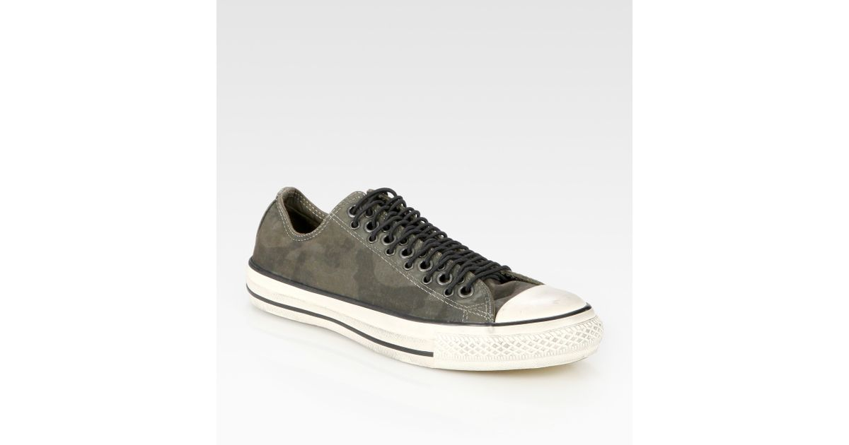 51a83f198fd149 ... usa lyst converse john varvatos camouflage canvas sneakers in gray for  men 90b4f b0e9d ...
