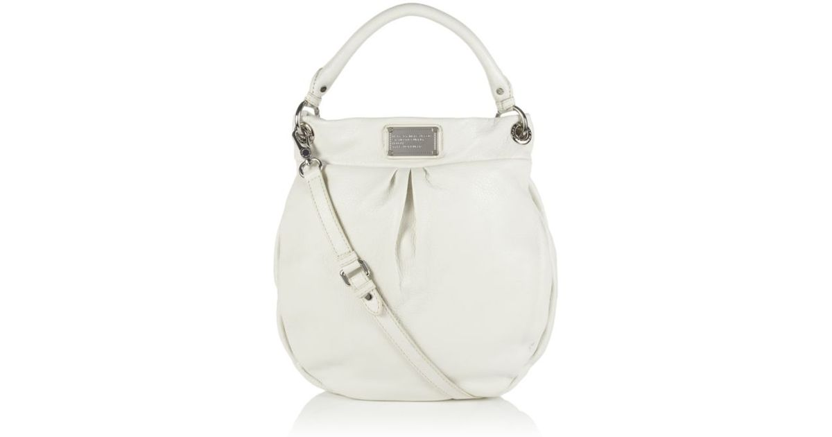 505125071f035 Marc By Marc Jacobs Classic Q Hillier Hobo Bag in White - Lyst