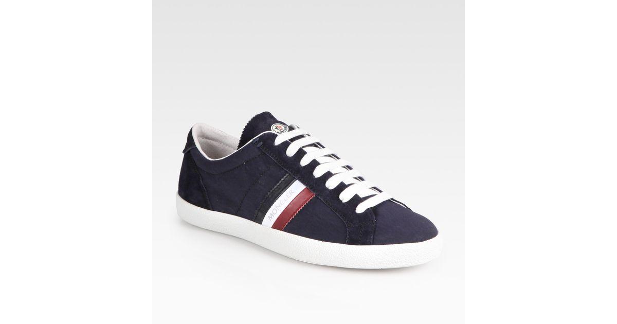 Moncler Navy La Monaco Sneakers gsSa6i32s