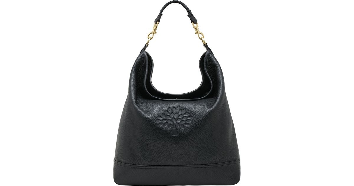 Lyst - Mulberry Effie Hobo Bag in Black 7c8b2c738935f