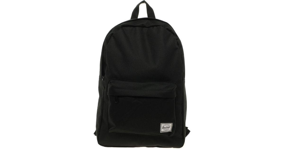 296c4275f777 Lyst - Herschel Supply Co. Herschel Classic Pocket Backpack in Black