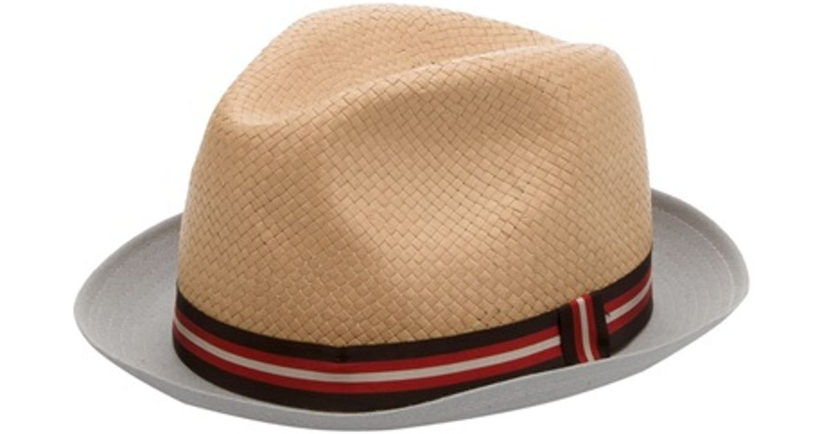 b79b4405 Paul Smith Straw Hat in Natural for Men - Lyst