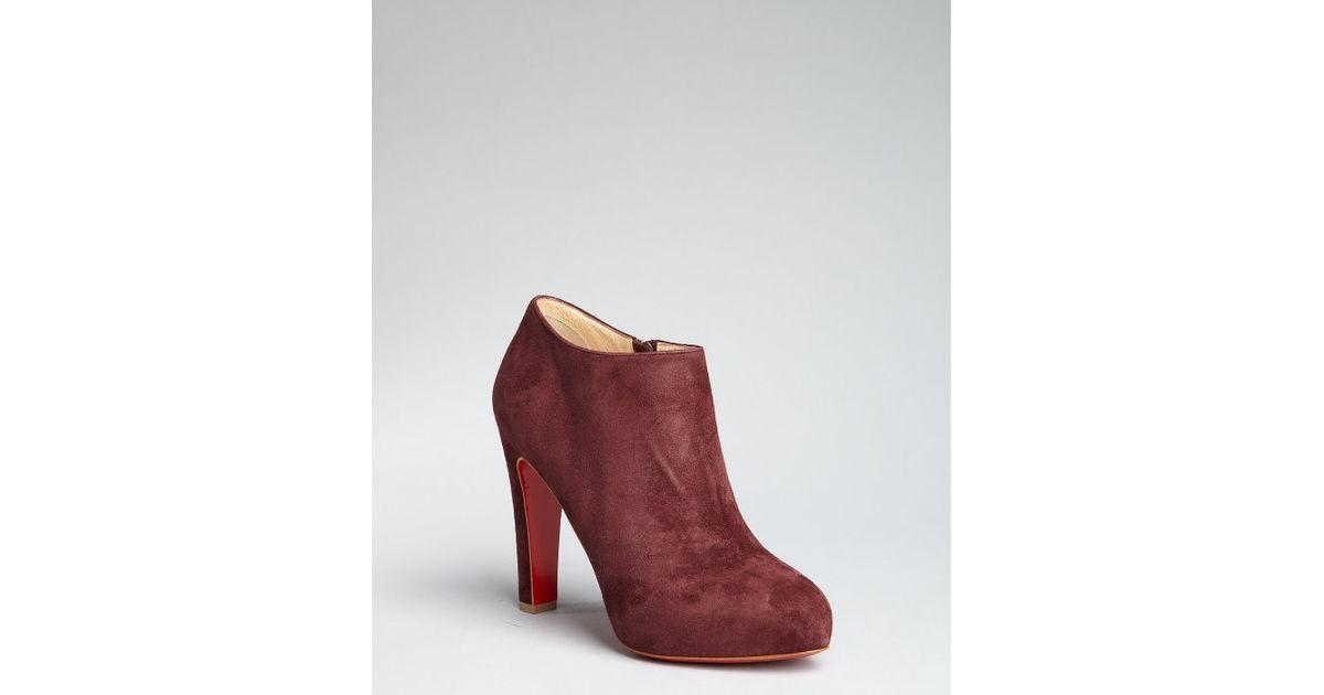 chaussure louboutin bordeaux