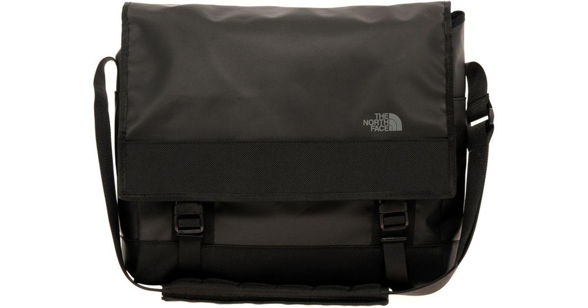 fd6824639 The North Face Black Base Camp Messenger Bag for men