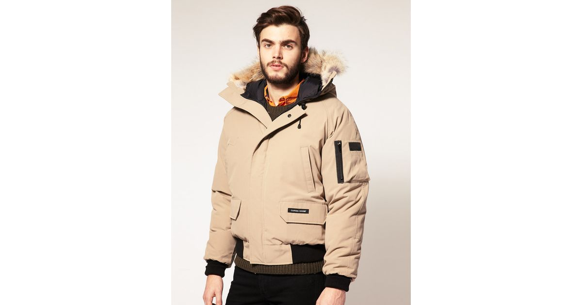 796b8a9e0 Canada Goose Brown Canada Goose Chilliwack Bomber Jacket for men