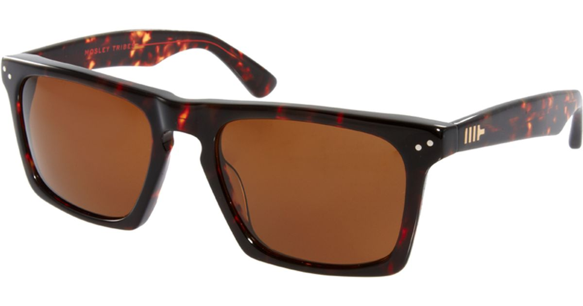 507e20c45f Mosley Tribes Lyndel Wayfarer Sunglasses in Black for Men - Lyst
