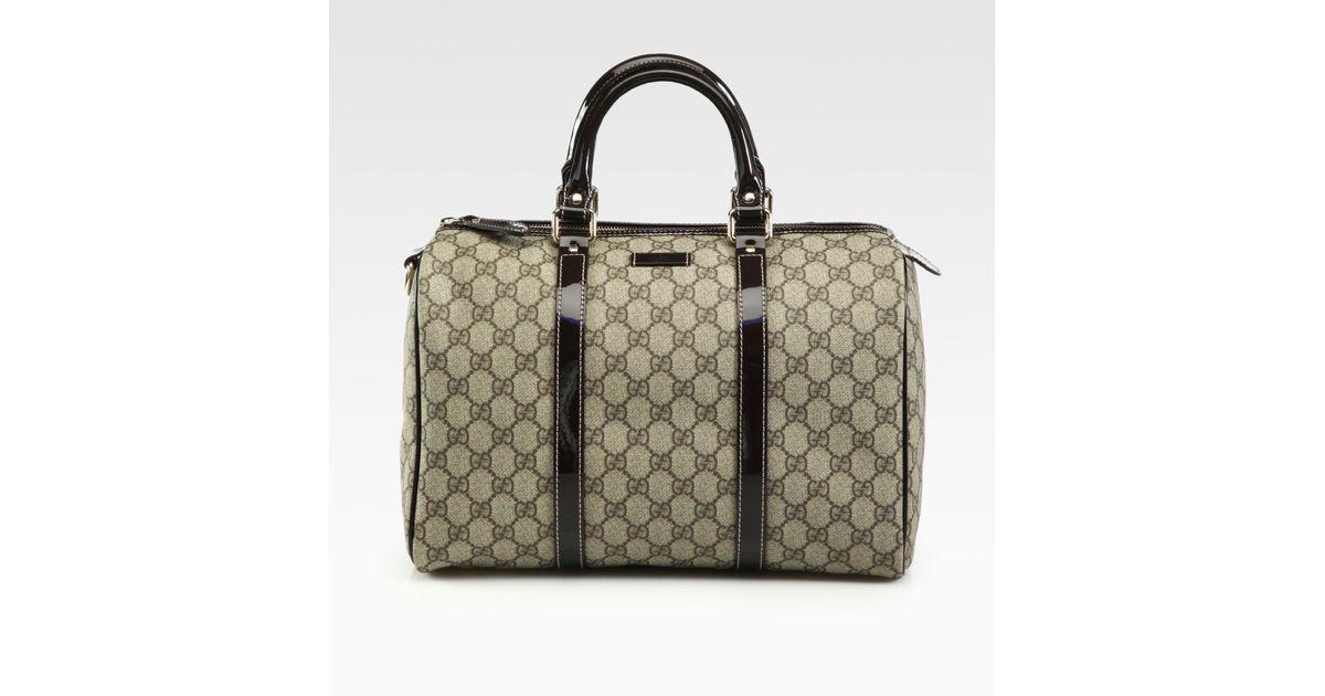 63275e2e3a29 Gucci Joy Medium Boston Bag in Black - Lyst