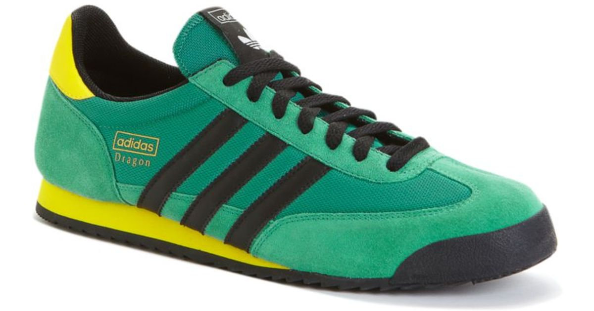 Adidas Green Dragon Sneakers for men