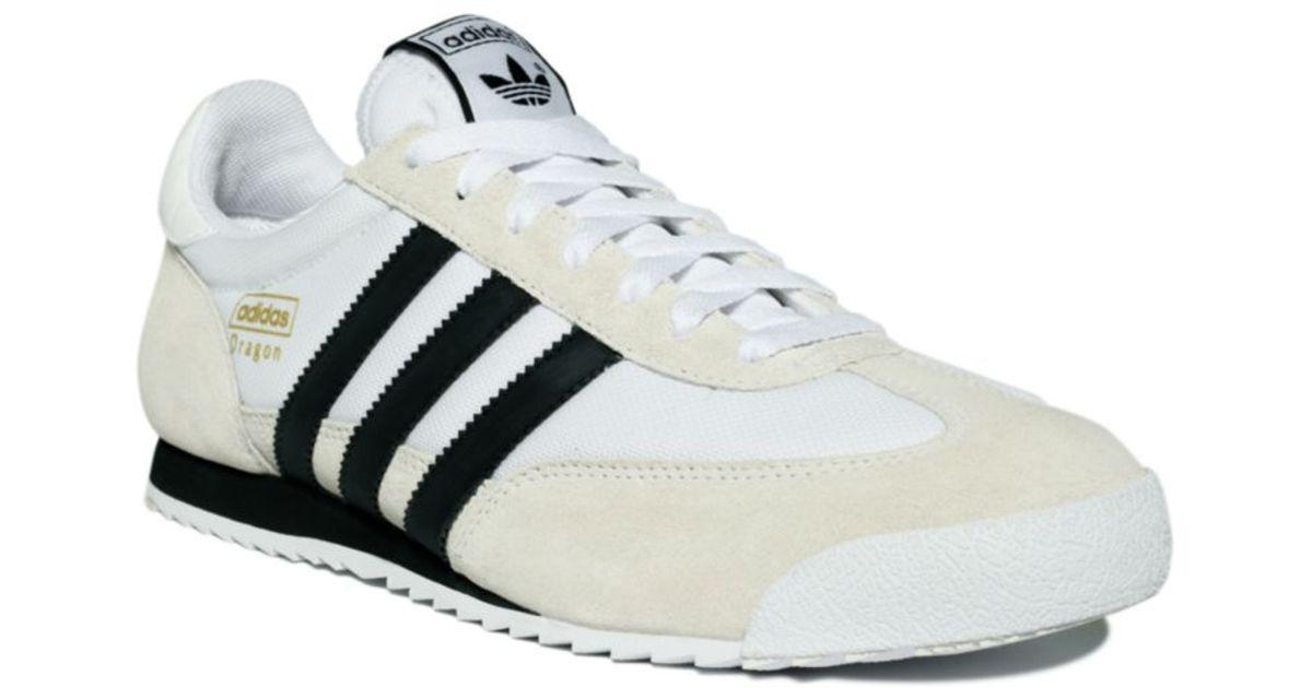 Adidas White Dragon Sneakers for men