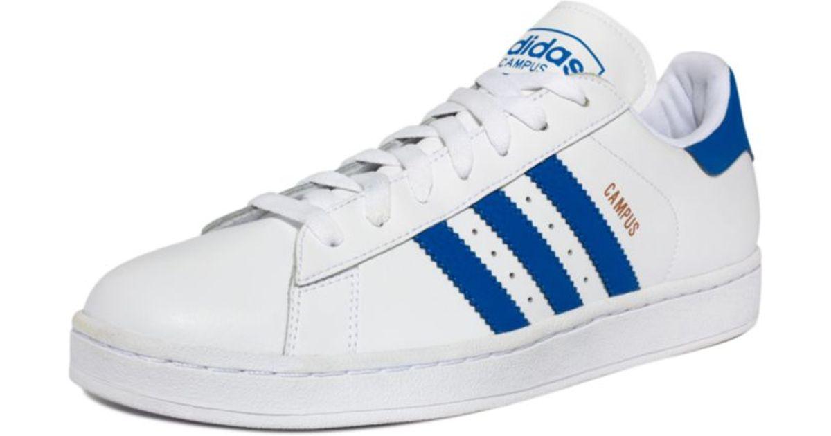 Adidas White Originals Campus 2 Sneakers for men