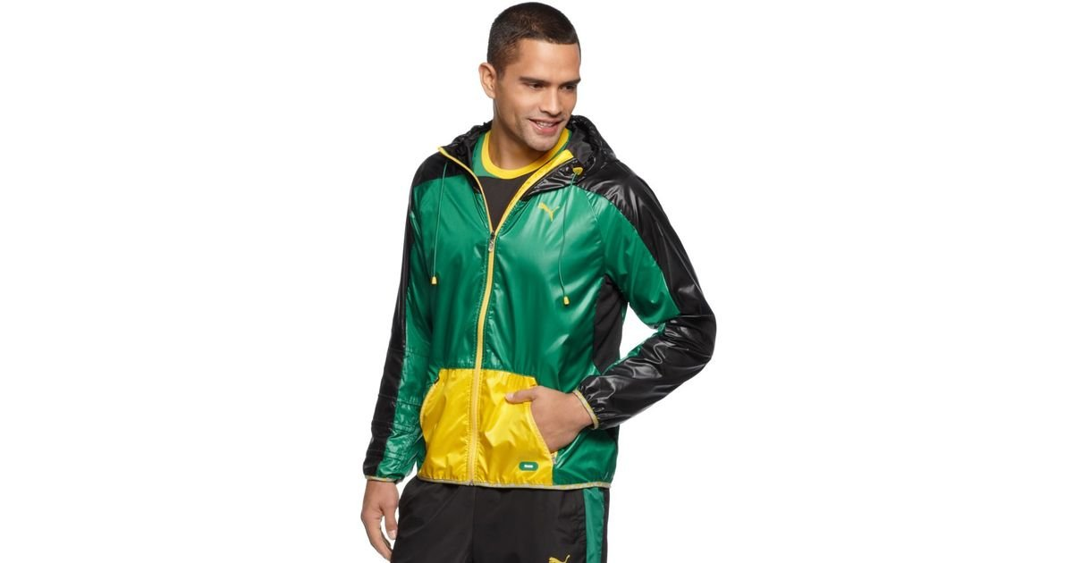 Puma Faas Hooded Wind Jacket For Men Lyst