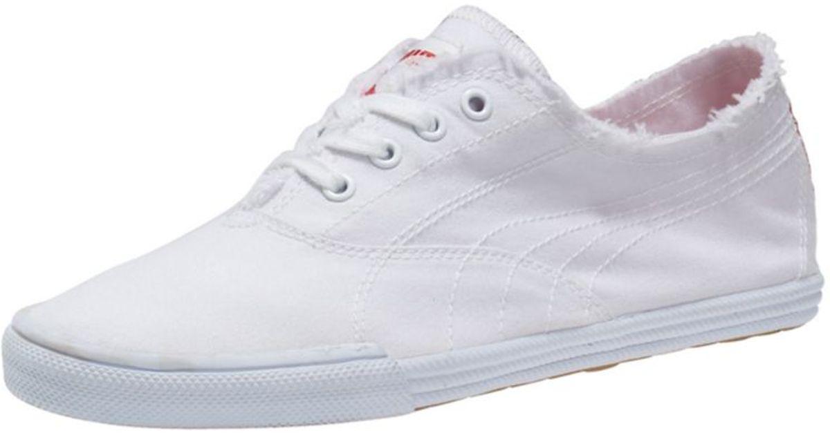 PUMA Tekkies Ska Footbed Sneakers in White - Lyst