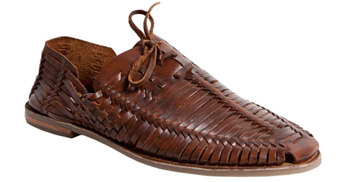 96ac54ef2d2 Lyst - Steve Madden Reston Huarache Sandals in Brown for Men