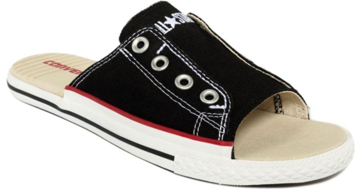 Converse Black Ctas Cut Away Sandals