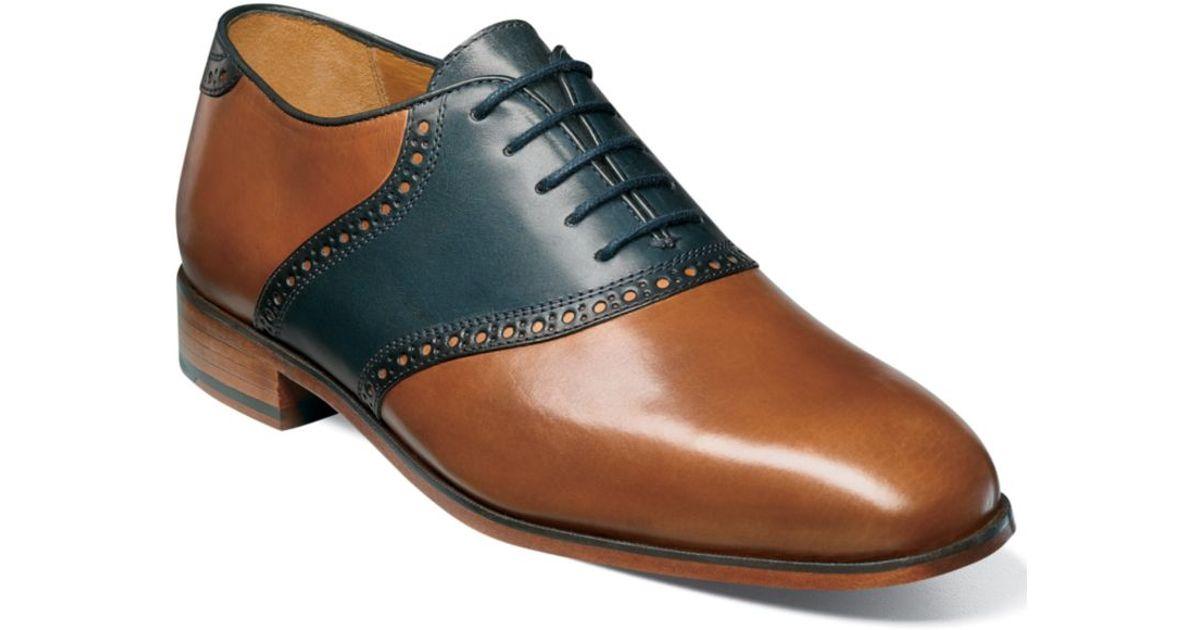 Florsheim Markham Saddle Lace Up Shoes