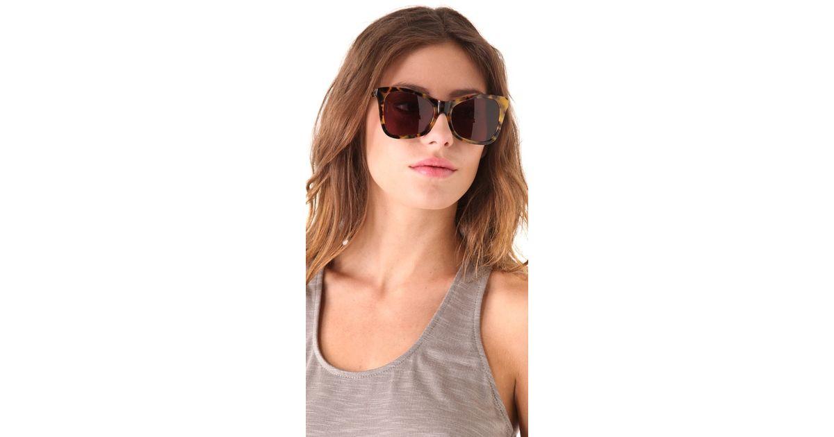 0f49d6c3bd128 Karen Walker Perfect Day Sunglasses - Lyst