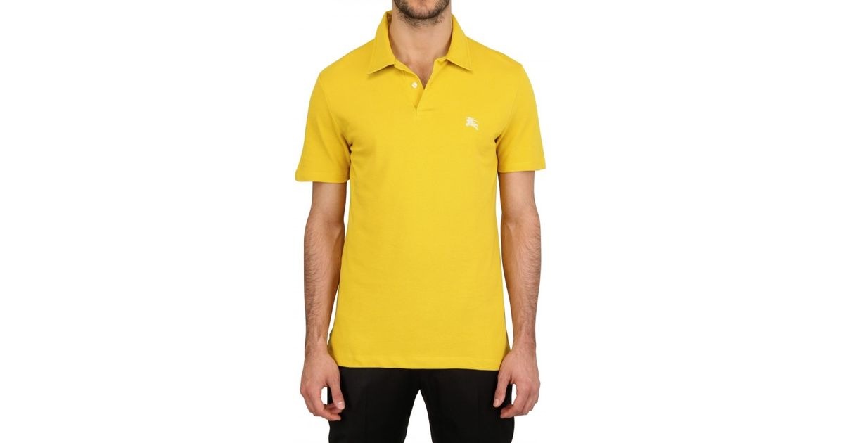 burberry polo outlet m28w  yellow burberry polo