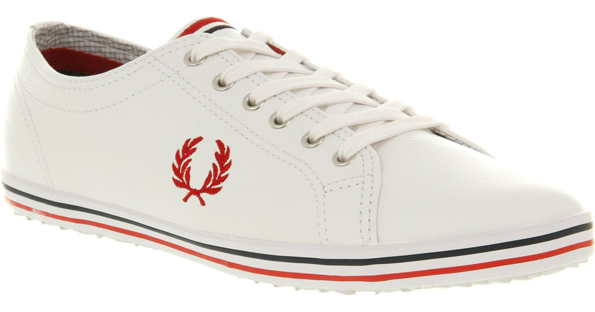 Fred Perry Kingston Tumbled Leather