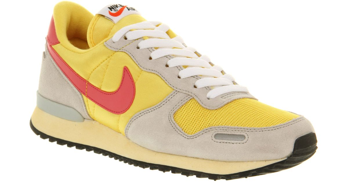 ... lyst nike air vortex vintage in yellow 7e2eebe3f