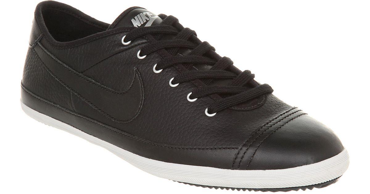 pretty nice 3c67f 85e38 Nike Flash Leather Black Leather for men