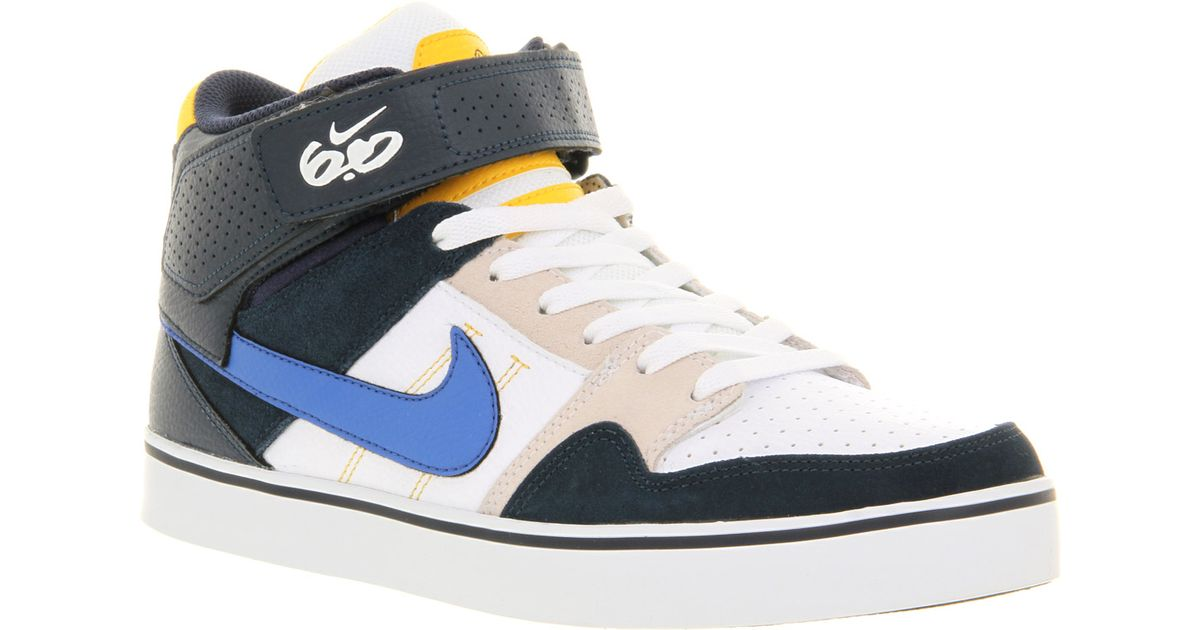 10e8d24525a62 Lyst - Nike 6 0 Mogan Mid 2 Se Trainers in Black for Men