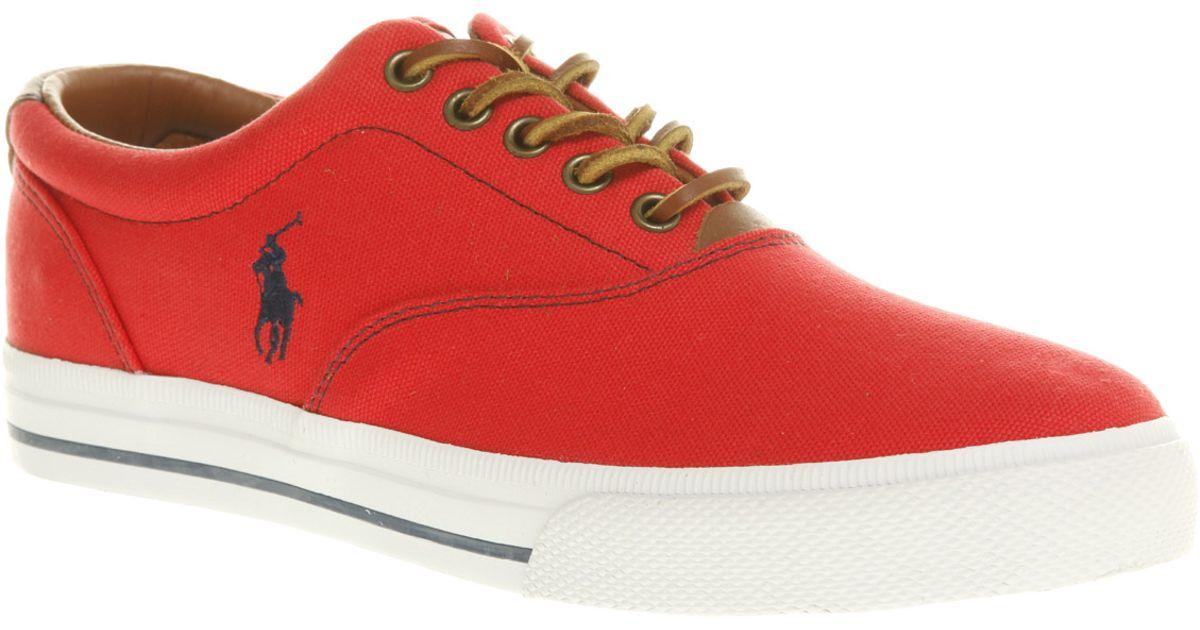 red ralph lauren shoes - 59% OFF