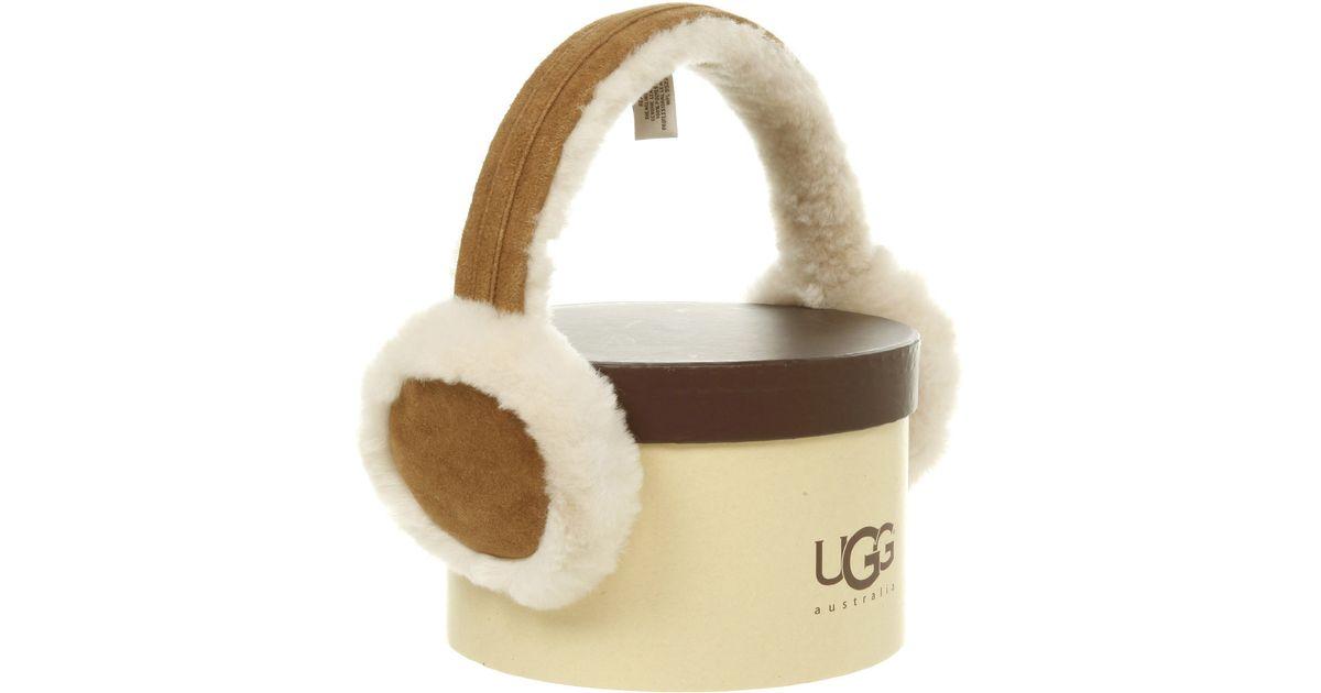 9213e01e24e UGG Brown Ear Muffs Chestnut